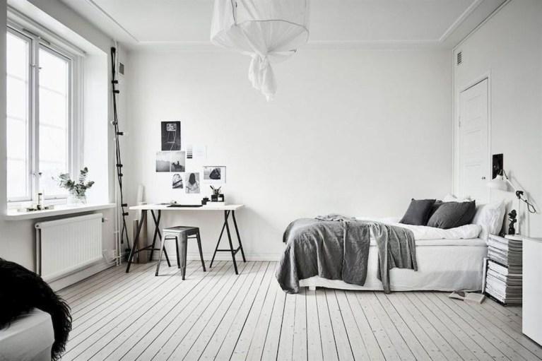 Modern And Stylish Scandinavian Bedroom Decoration Ideas 14