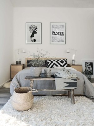 Modern And Stylish Scandinavian Bedroom Decoration Ideas 37