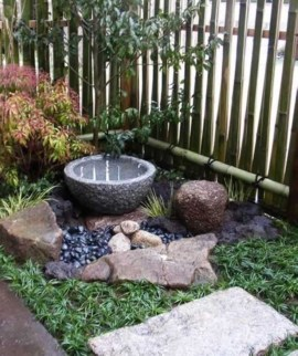 Relaxing Japanese Inspired Front Yard Decoration Ideas 18