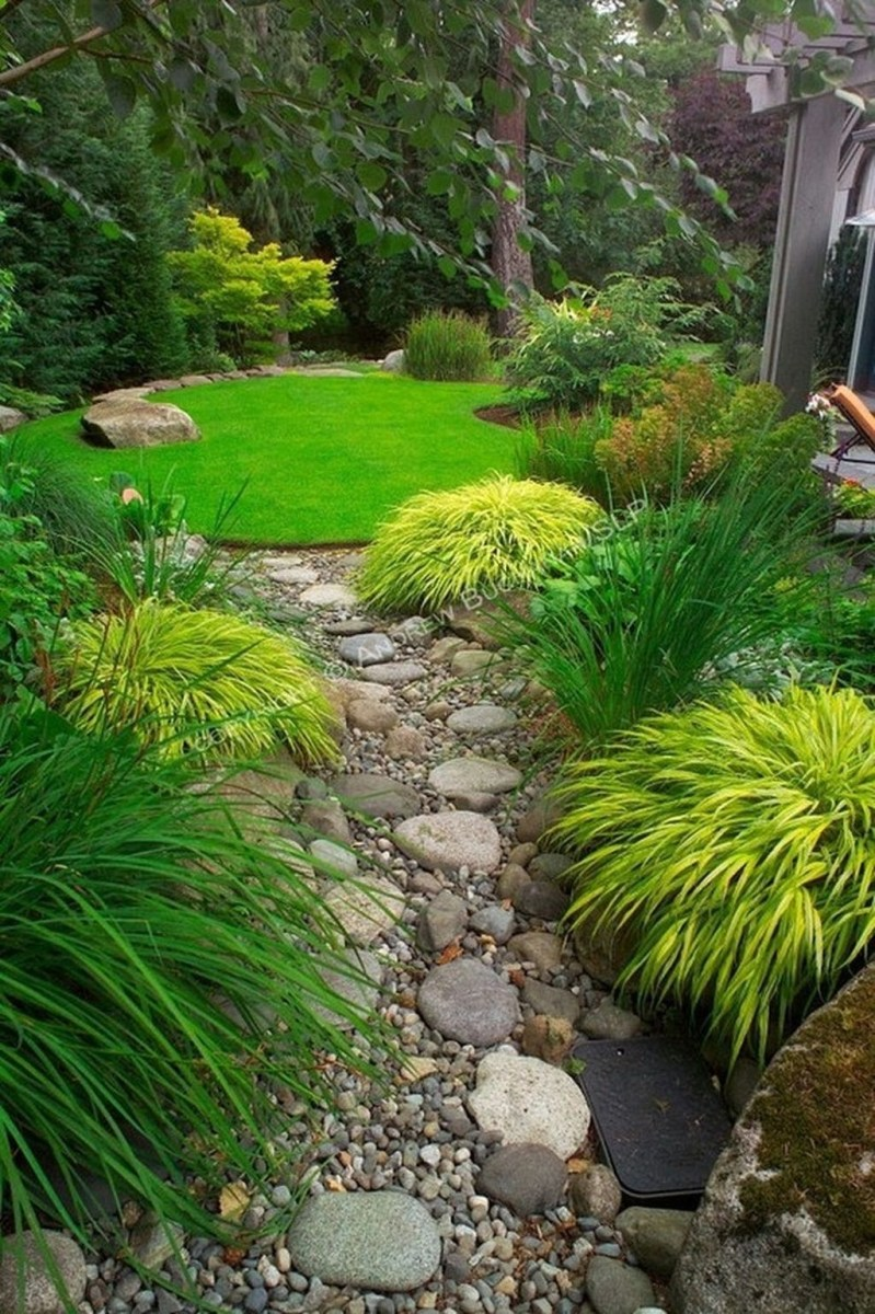 Relaxing Japanese Inspired Front Yard Decoration Ideas 22