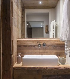 Simple And Cozy Wooden Bathroom Remodel Ideas 18