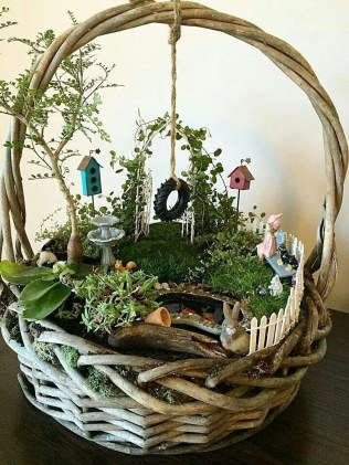 Totally Cool Magical Diy Fairy Garden Ideas 13