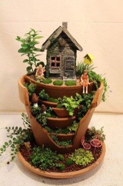 Totally Cool Magical Diy Fairy Garden Ideas 39