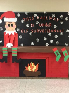 Adorable Winter Classroom Door Decoration Ideas 02