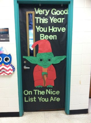 Adorable Winter Classroom Door Decoration Ideas 05