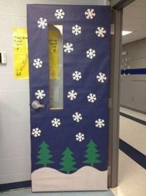Adorable Winter Classroom Door Decoration Ideas 13