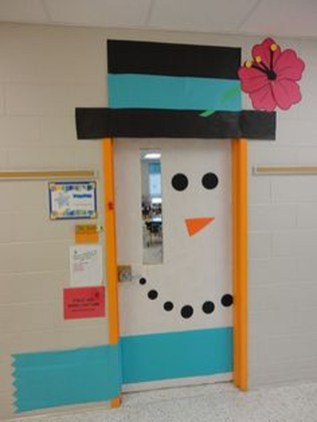 Adorable Winter Classroom Door Decoration Ideas 21