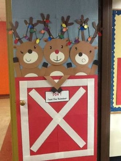 Adorable Winter Classroom Door Decoration Ideas 26