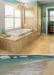 Awesome Winter Themed Bathroom Decoration Ideas 05