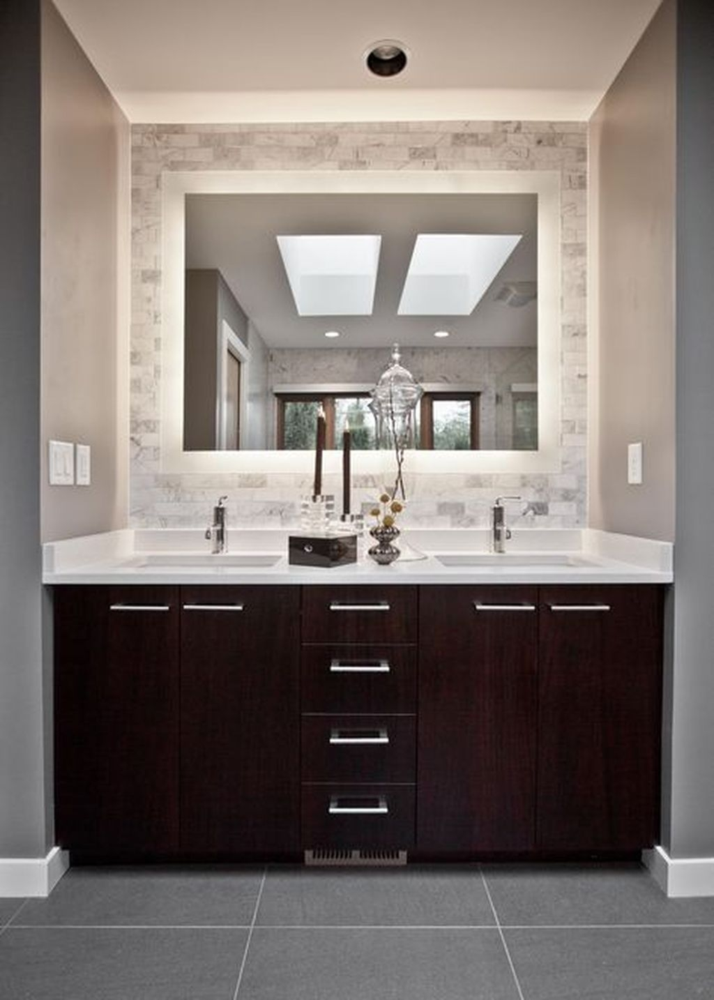 Awesome Winter Themed Bathroom Decoration Ideas 18