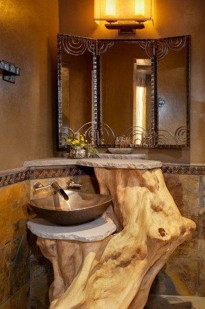 Awesome Winter Themed Bathroom Decoration Ideas 31