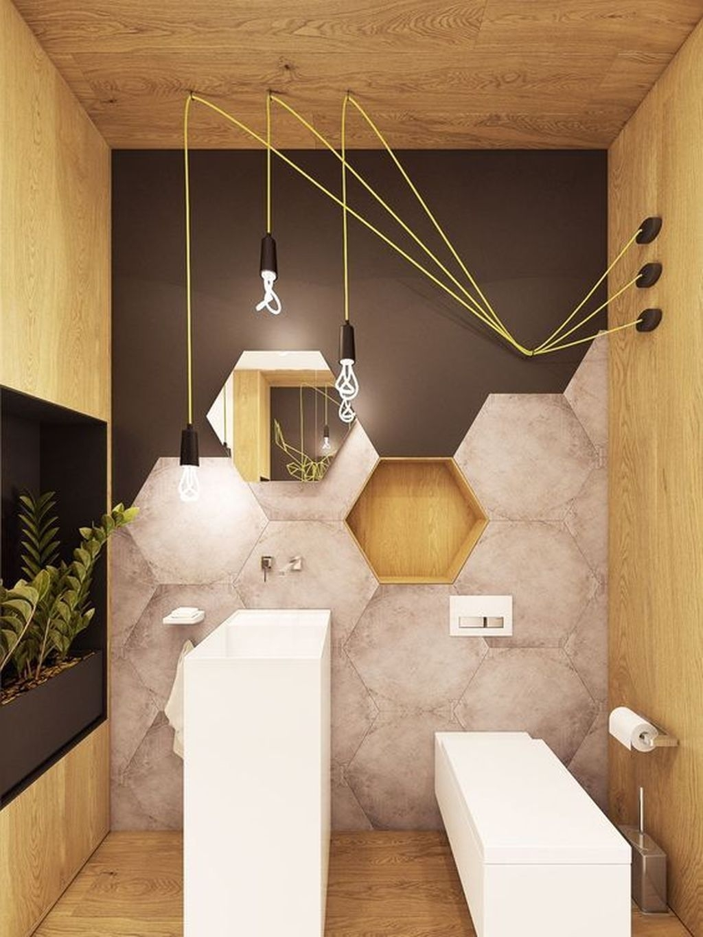 Awesome Winter Themed Bathroom Decoration Ideas 38