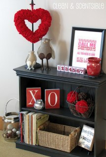 Cool And Cozy Red Valentines Day Decoration Ideas 35