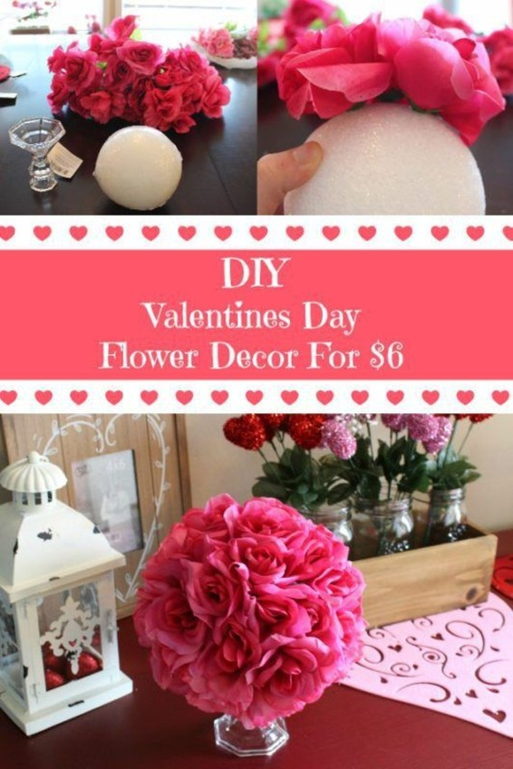 Cool And Cozy Red Valentines Day Decoration Ideas 39