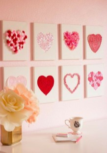 Cute Pink Valentines Day Decoration Ideas For Your Home 06