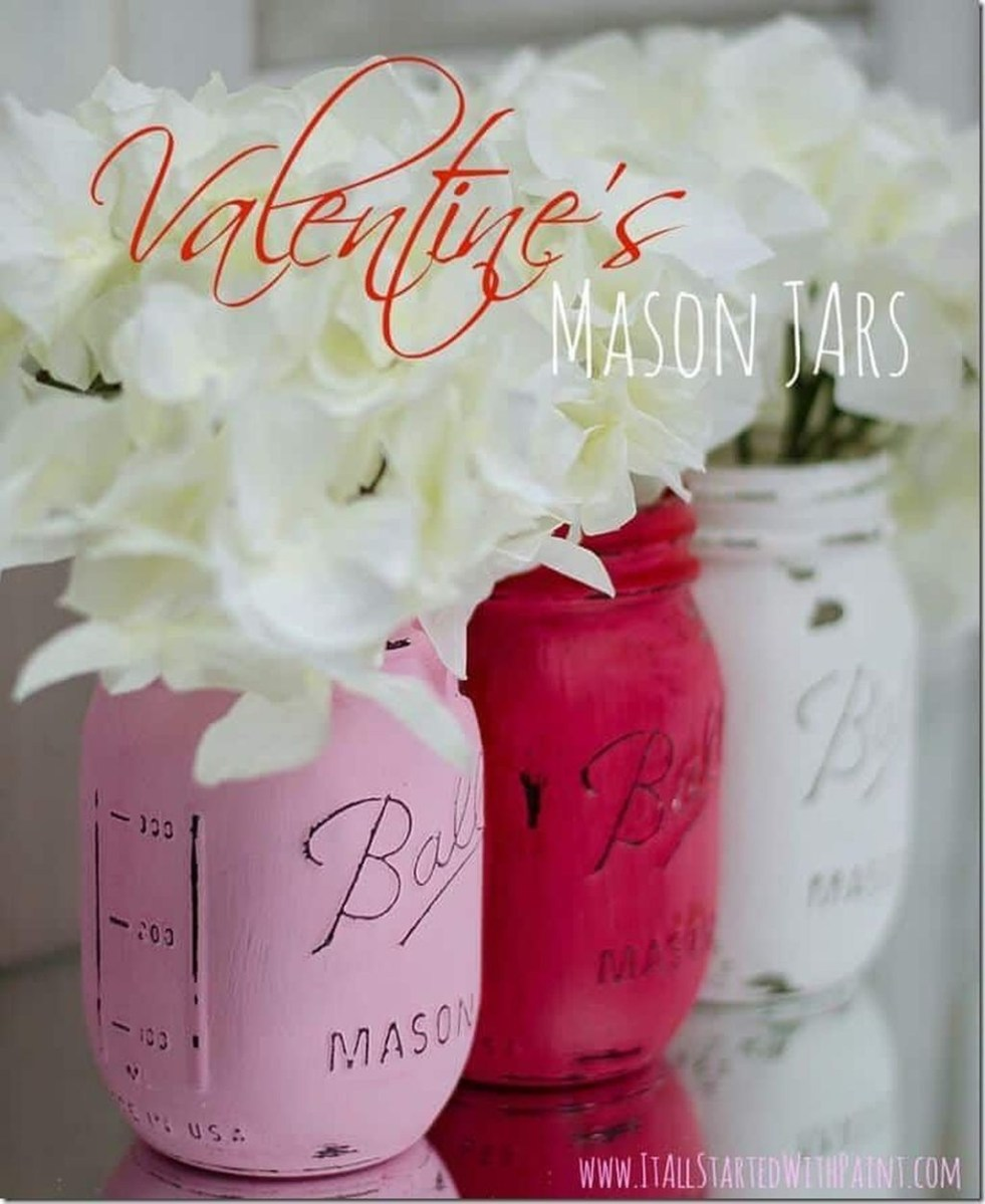 Cute Pink Valentines Day Decoration Ideas For Your Home 24