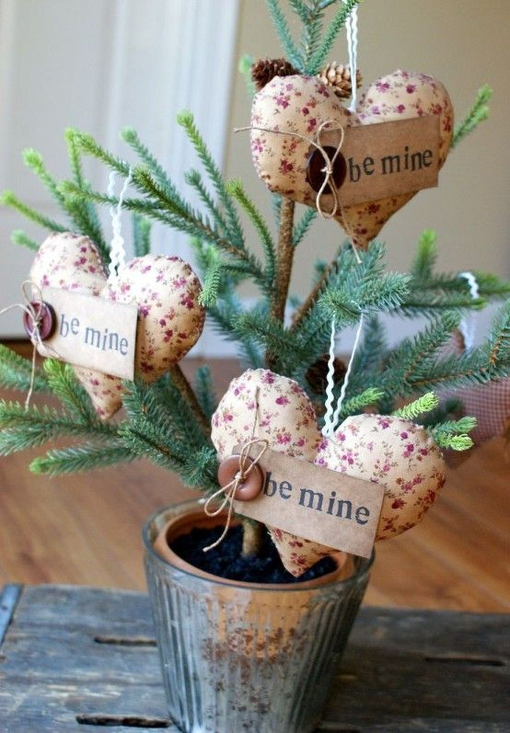 Cute Shabby Chic Valentines Decoration Ideas For Your Home 15