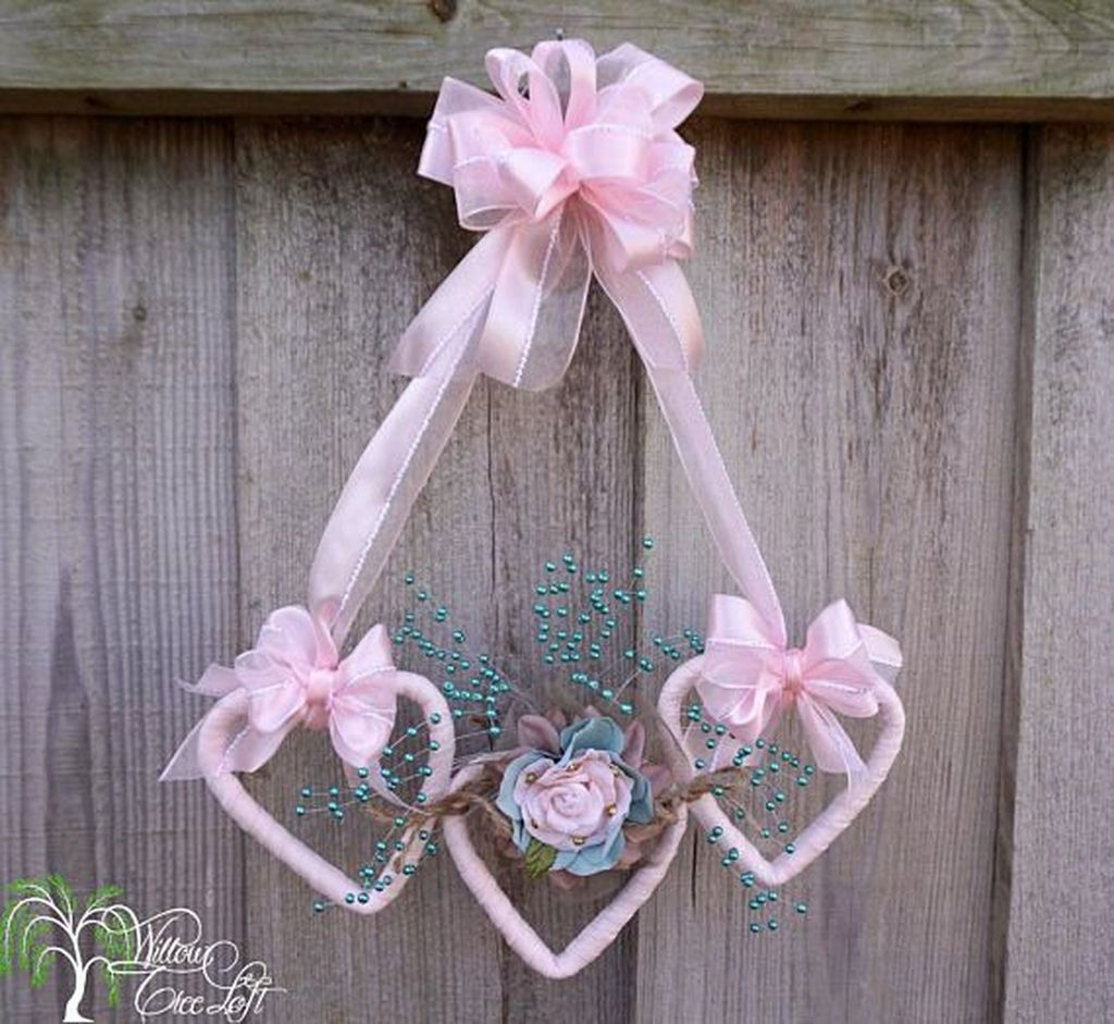 Cute Shabby Chic Valentines Decoration Ideas For Your Home 17
