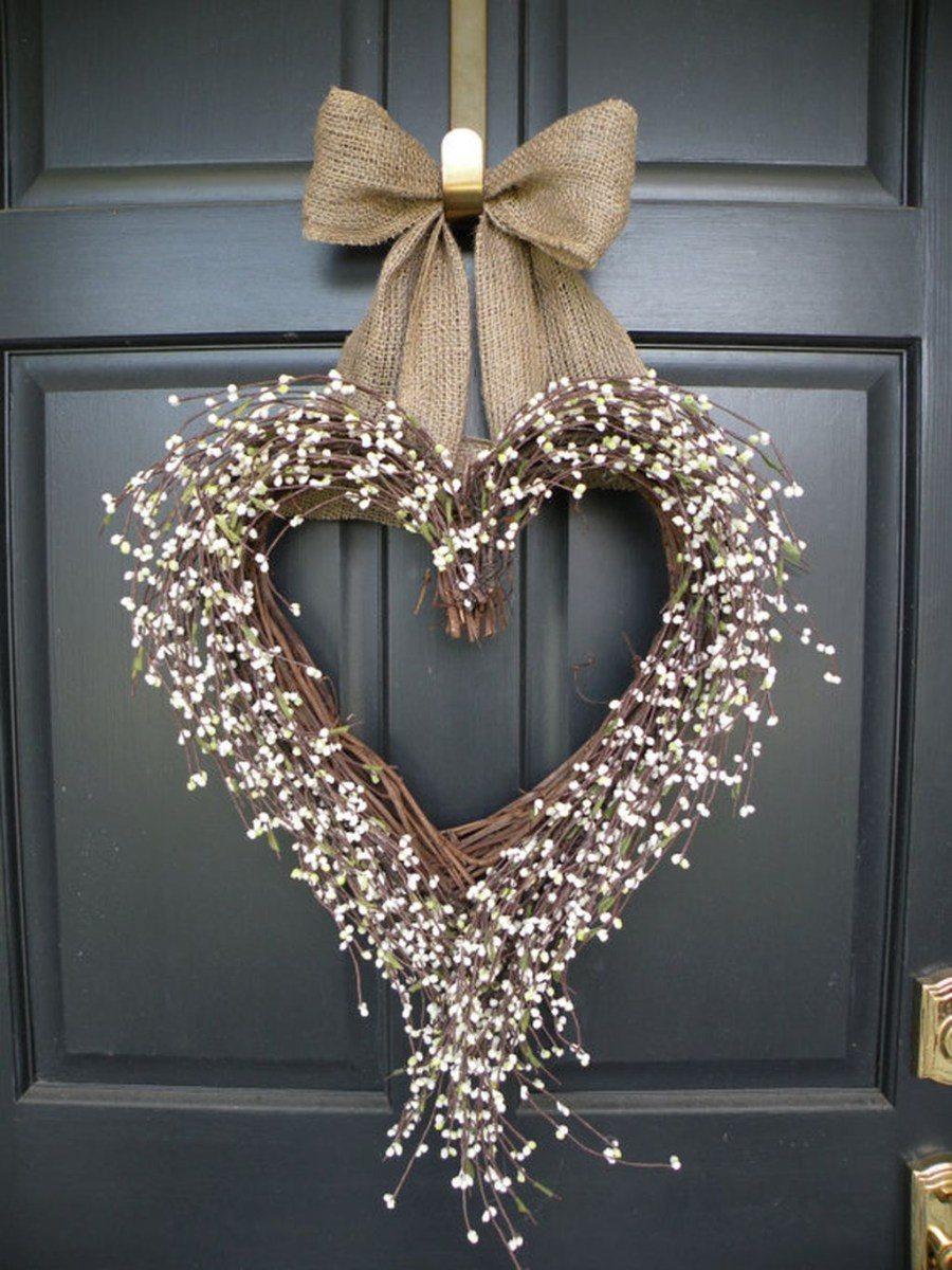 Cute Shabby Chic Valentines Decoration Ideas For Your Home 32