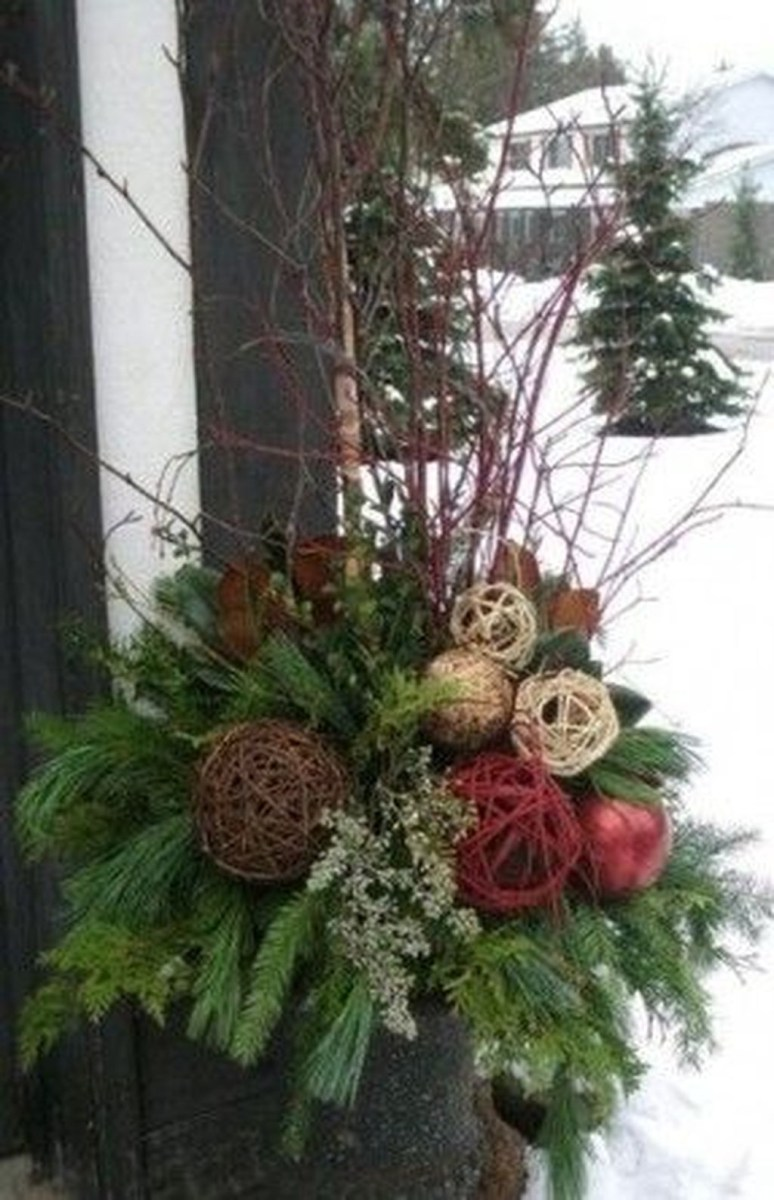 Fabulous Outdoor Winter Decoration Ideas 31