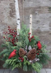 Fabulous Outdoor Winter Decoration Ideas 38