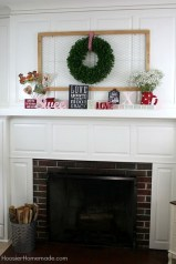 Inspiring Valentines Day Fireplace Decoration Ideas 22
