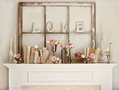 Inspiring Valentines Day Fireplace Decoration Ideas 27