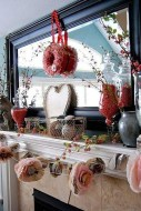 Inspiring Valentines Day Fireplace Decoration Ideas 31