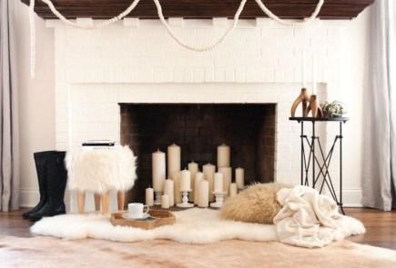 Inspiring Valentines Day Fireplace Decoration Ideas 37