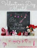 Inspiring Valentines Day Fireplace Decoration Ideas 39