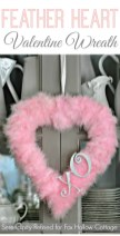 Totally Adorable Wreath Ideas For Valentines Day 11