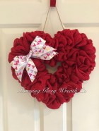 Totally Adorable Wreath Ideas For Valentines Day 26