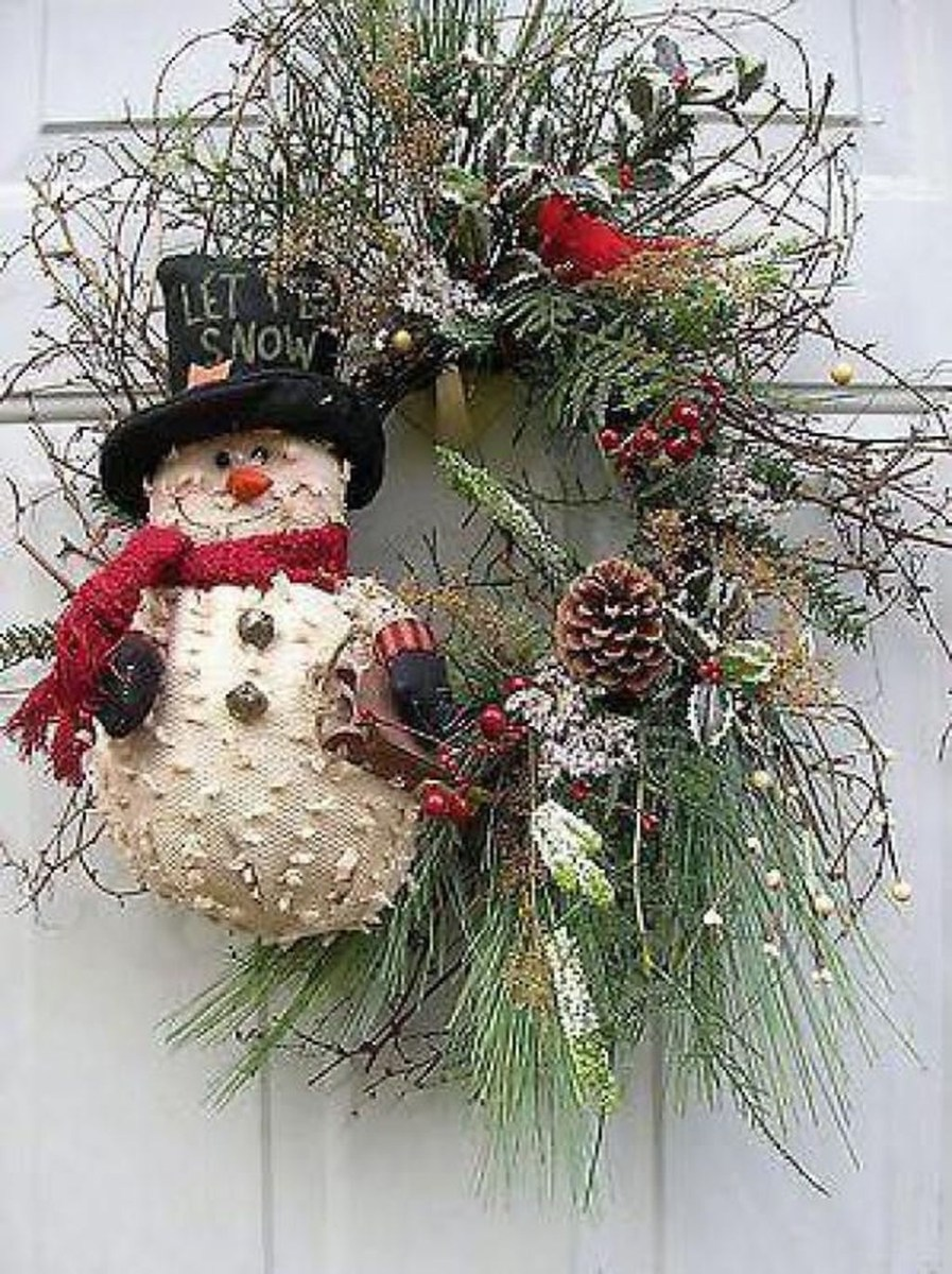 Totally Inspiring Winter Door Decoration Ideas 09