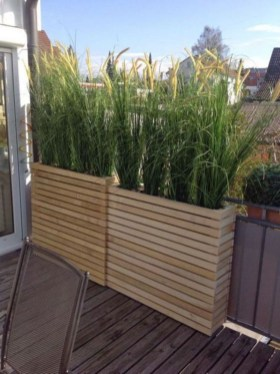 Adorable Wooden Privacy Fence Patio Backyard Landscaping Ideas 10