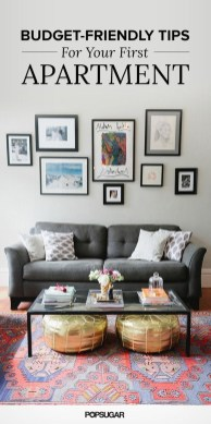 Affordable First Apartment Decorating Ideas On A Budget 07