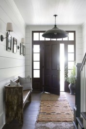 Amazing Farmhouse Entryway Mudroom Design Ideas 33