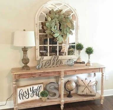 Beautiful Rustic Entryway Decoration Ideas 05