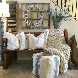 Beautiful Rustic Entryway Decoration Ideas 18