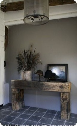 Beautiful Rustic Entryway Decoration Ideas 25