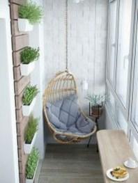 Cozy Apartment Balcony Decoration Ideas 20
