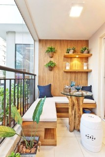 Cozy Apartment Balcony Decoration Ideas 29