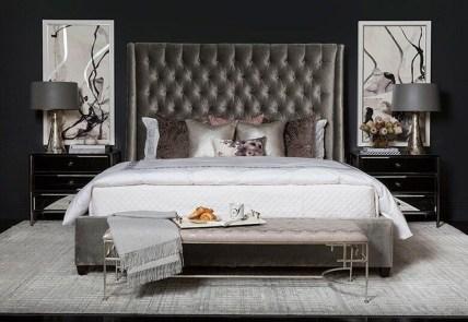 Elegant Small Master Bedroom Decoration Ideas 21