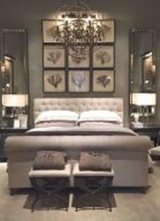 Elegant Small Master Bedroom Decoration Ideas 26