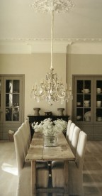 Inspiring Rustic Farmhouse Dining Room Design Ideas 36