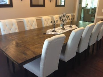 Inspiring Rustic Farmhouse Dining Room Design Ideas 42