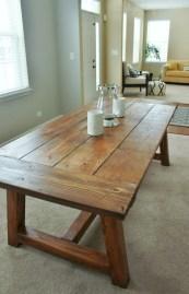 Inspiring Rustic Farmhouse Dining Room Design Ideas 43