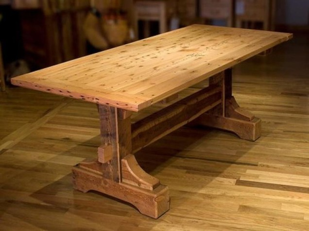 Inspiring Rustic Farmhouse Dining Room Design Ideas 47