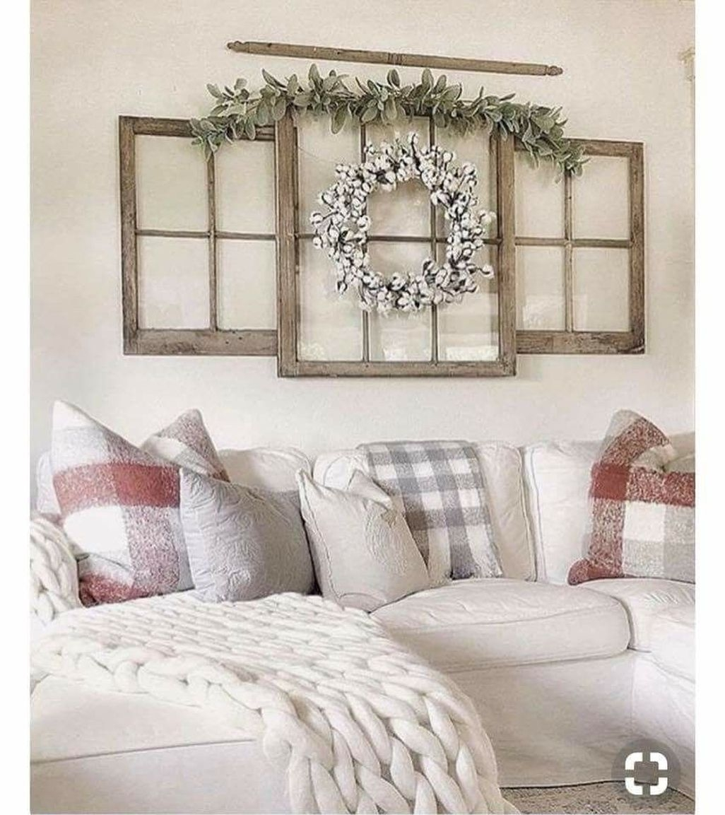 Amazing Rustic Farmhouse Living Room Decoration Ideas 02