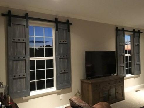 Amazing Rustic Farmhouse Living Room Decoration Ideas 32