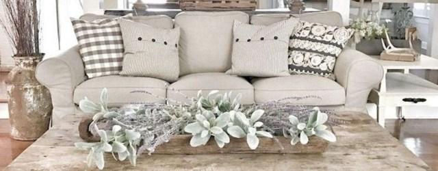 Amazing Rustic Farmhouse Living Room Decoration Ideas 46